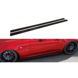 Rajouts Des Bas De Caisse Pour Mazda Mx-5 Iv Gloss Black