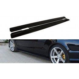 Maxton design Rajouts Des Bas De Caisse Pour Mercedes Cls C218 Amg Line Gloss Black
