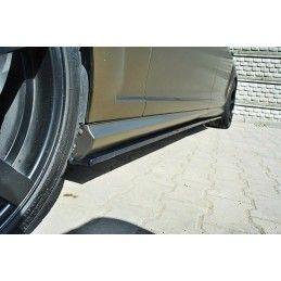 Maxton design Rajout Du Bas De Caisse Mercedes S-Class W221 Amg Lwb Gloss Black