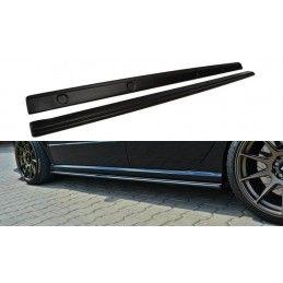 Maxton design Rajouts Des Bas De Caisse Pour Skoda Fabia Rs Mk1 Gloss Black
