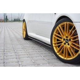 RAJOUTS DES BAS DE CAISSE POUR Alfa Romeo GT Noir Brillant, GT