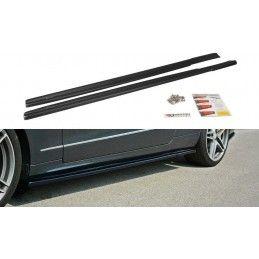 RAJOUTS DES BAS DE CAISSE POUR Mercedes E W212 Noir Brillant, W212