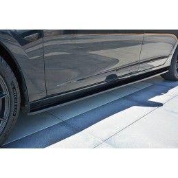 RAJOUTS DES BAS DE CAISSE POUR Volvo V60 Polestar Facelift Noir Brillant, V60
