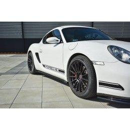 Set Des Diffuseur Des Bas De Caisse Porsche Cayman S 987c  Gloss Black