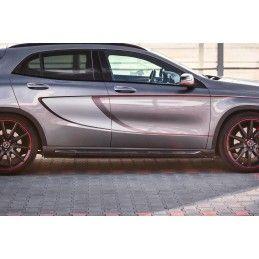 Set Des Diffuseur Des Bas De Caisse Mercedes-Benz Gla 45 Amg Suv (x156) Avant Facelift Gloss Black