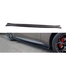 Maxton design Set Des Diffuseur Des Bas De Caisse Alfa Romeo Giulia Veloce Gloss Black