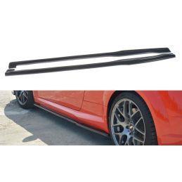 Maxton design Rajouts Des Bas De Caisse Pour Audi Tt Rs 8s Gloss Black