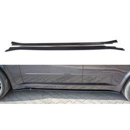 Set des diffeuseur des bas de caisse BMW X5 E70 Facelift M-pack Noir Brillant, X5 E70