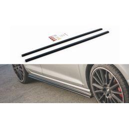 Maxton design Rajouts Des Bas De Caisse Pour V.2 Vw Golf 7 Gti (étroite) Gloss Black
