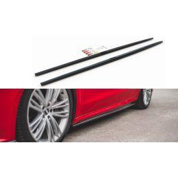 Rajouts Des Bas De Caisse Audi A7 C8 S-Line Gloss Black