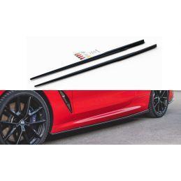 Maxton design Rajouts Des Bas De Caisse Bmw M850i G15 Gloss Black
