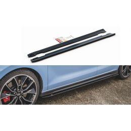 Rajouts Des Bas De Caisse V.4 Hyundai I30 N Mk3 Hatchback/ Fastback Gloss Black