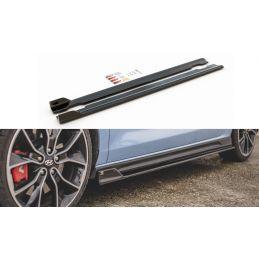 Maxton design Rajouts Des Bas De Caisse V.5 Hyundai I30 N Mk3 Hatchback/ Fastback Gloss Black