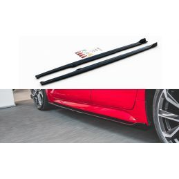 Maxton design Rajouts Des Bas De Caisse Toyota Corolla Xii Hatchback Gloss Black