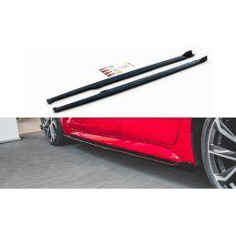 Rajouts Des Bas De Caisse Toyota Corolla Xii Hatchback Gloss Black
