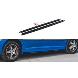 Maxton design Rajouts Des Bas De Caisse Peugeot 207 Sport Gloss Black