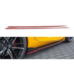 Set Des Diffeuseur Des Bas De Caisse V.2 Toyota Supra Mk5 Red
