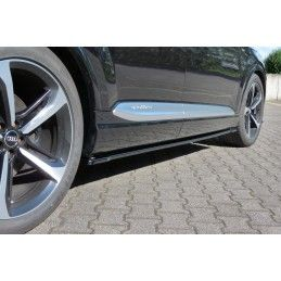 Rajouts Des Bas De Caisse Pour Audi SQ7 / Q7 S-Line Mk.2 Texturé, Q7 / SQ7