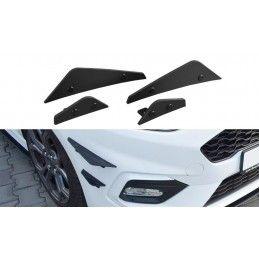 Ailes De Pare-Chocs Avant (canards) Ford Fiesta Mk8 St/ St-Line