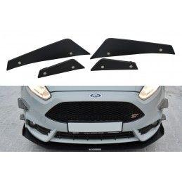 Stoßstangenflügel vorne (Canards) Ford Fiesta ST Mk7 FL , Fiesta Mk7 / 7.5