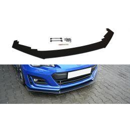 Maxton design Lame Du Pare-Chocs Avant / Splitter V.1 Subaru Brz Facelift