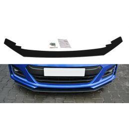 Maxton design Lame Du Pare-Chocs Avant / Splitter V.2 Subaru Brz Facelift