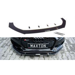 Maxton design Sport Lame Du Pare-Chocs Avant V.1 Audi Rs3 8v Fl Sportback