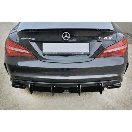 DIFFUSEUR ARRIERE V.2 Mercedes CLA A45 AMG C117 Facelift , CLA
