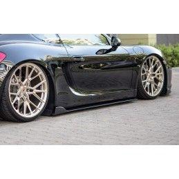 Rajouts Des Bas De Caisse Pour Porsche Cayman Mk2 981c