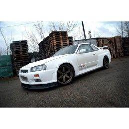 Maxton design Set Des Extensions Avant Gtr Look Nissan Skyline R34 Gtr, Gtt No Primed