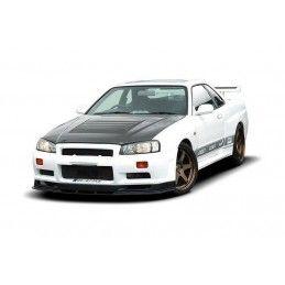 Pare-Chocs Avant Nissan Skyline R34 Gtt (sans Lame, Se Monte Seulement Avec 2299-1 Les Ailes Élargies Et Le Capot Gtr) No Primed