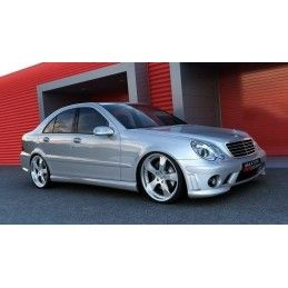 Pare Chocs Avant Mercedes C W203  Amg 204 Look No Primed