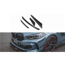 Ailes de pare-chocs avant (Canards) BMW 1 F40 M-Pack / M135i , BMW