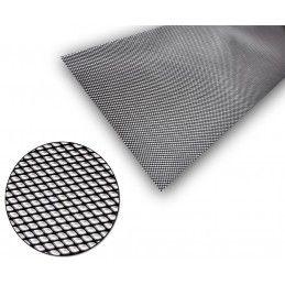 Universel Grille Aluminium Noir 5x3mm 100x30cm, Univesel