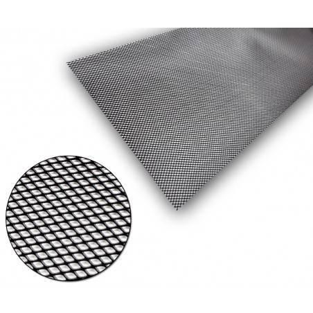 Universel Grille Aluminium Noir 5x3mm 100x30cm