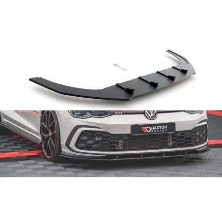 Sport Durabilité Lame Du Pare-Chocs Avant Volkswagen Golf 8 GTI Noir