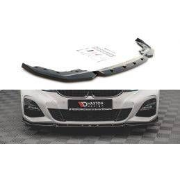 Lame Du Pare-Chocs Avant V.5 BMW 3 G20 / G21 M-Pack Noir Brillant, NOUVEAUX PRODUITS